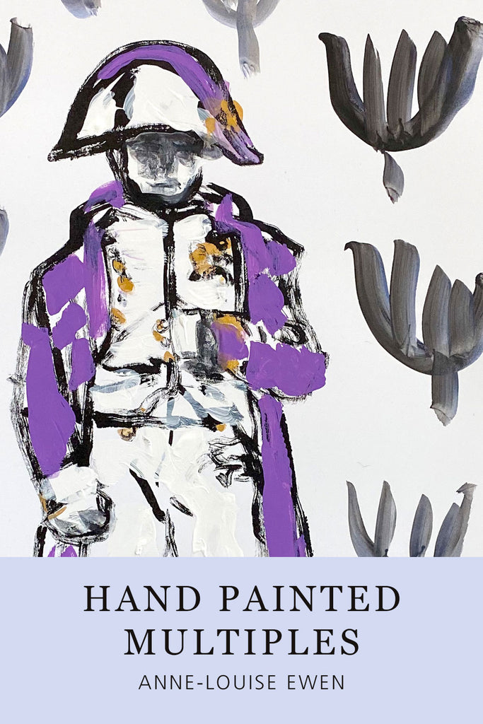 Hand Painted Multiple // Napoleon No. 4 :  Lavender & Gold