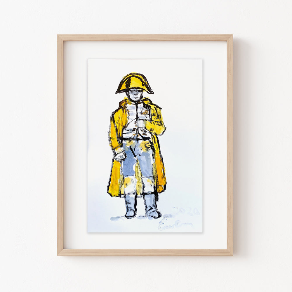 Hand Painted Multiple // Napoleon No. 8 :  Brilliant Yellow & Gold