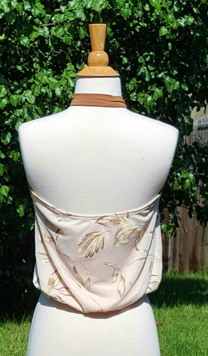 Cream Twist Delight Top