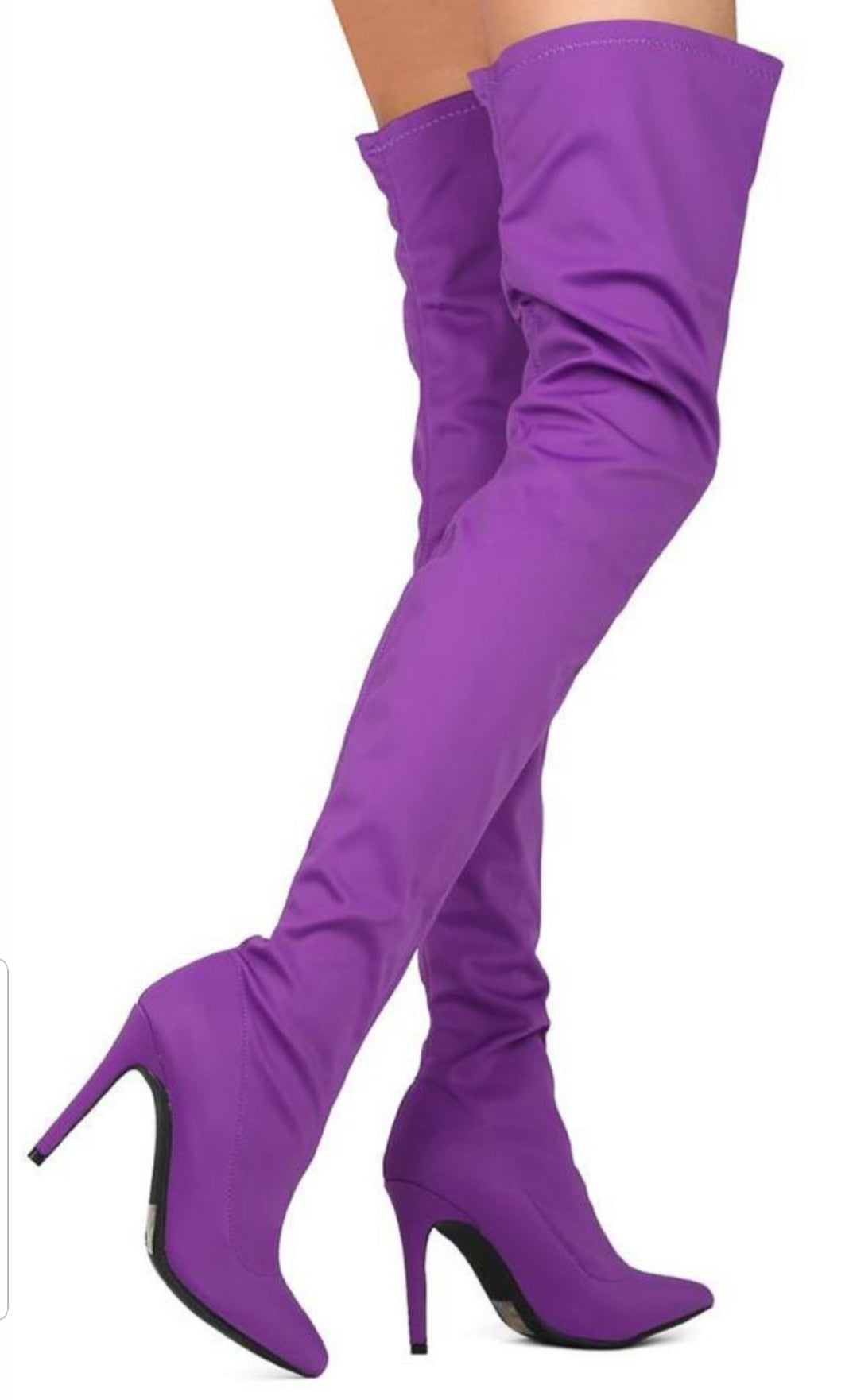 Womens Purple Boots