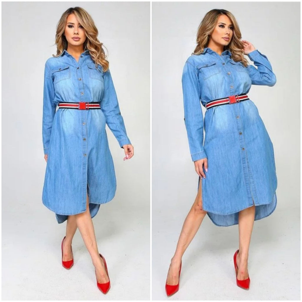Dimmy Denim Dress