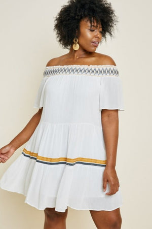 Tiered Swing Dress