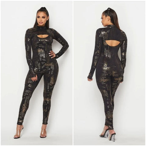 Black Sensation Jumpsuit