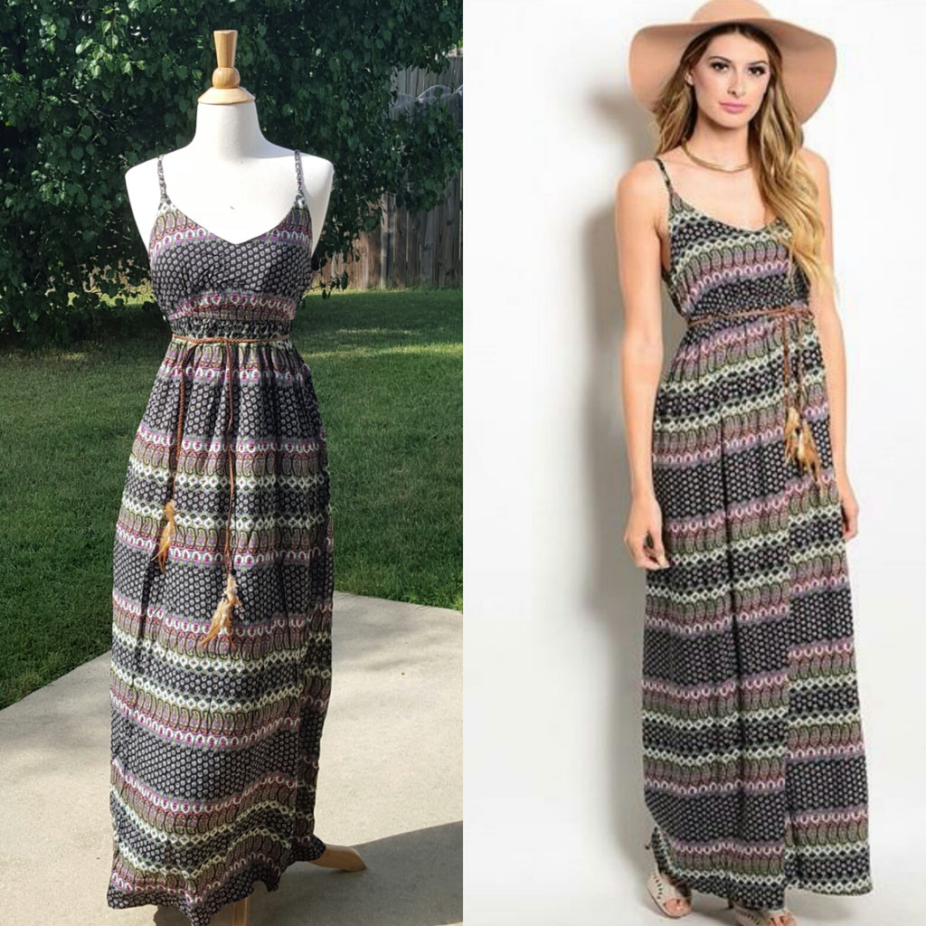 Maxin Relaxin Maxi Dress