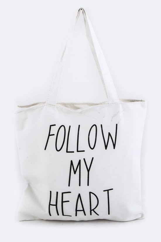 Follow Your Heart Tote