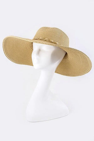 Woven Chain Straw Hat