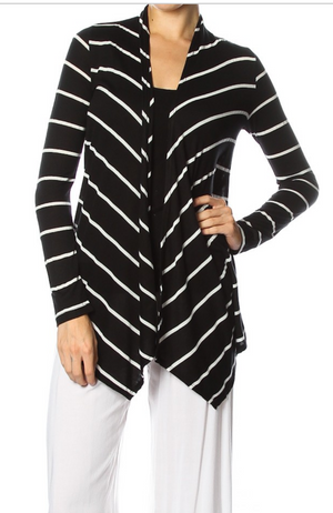 Long Sleeve Collar Cardigan
