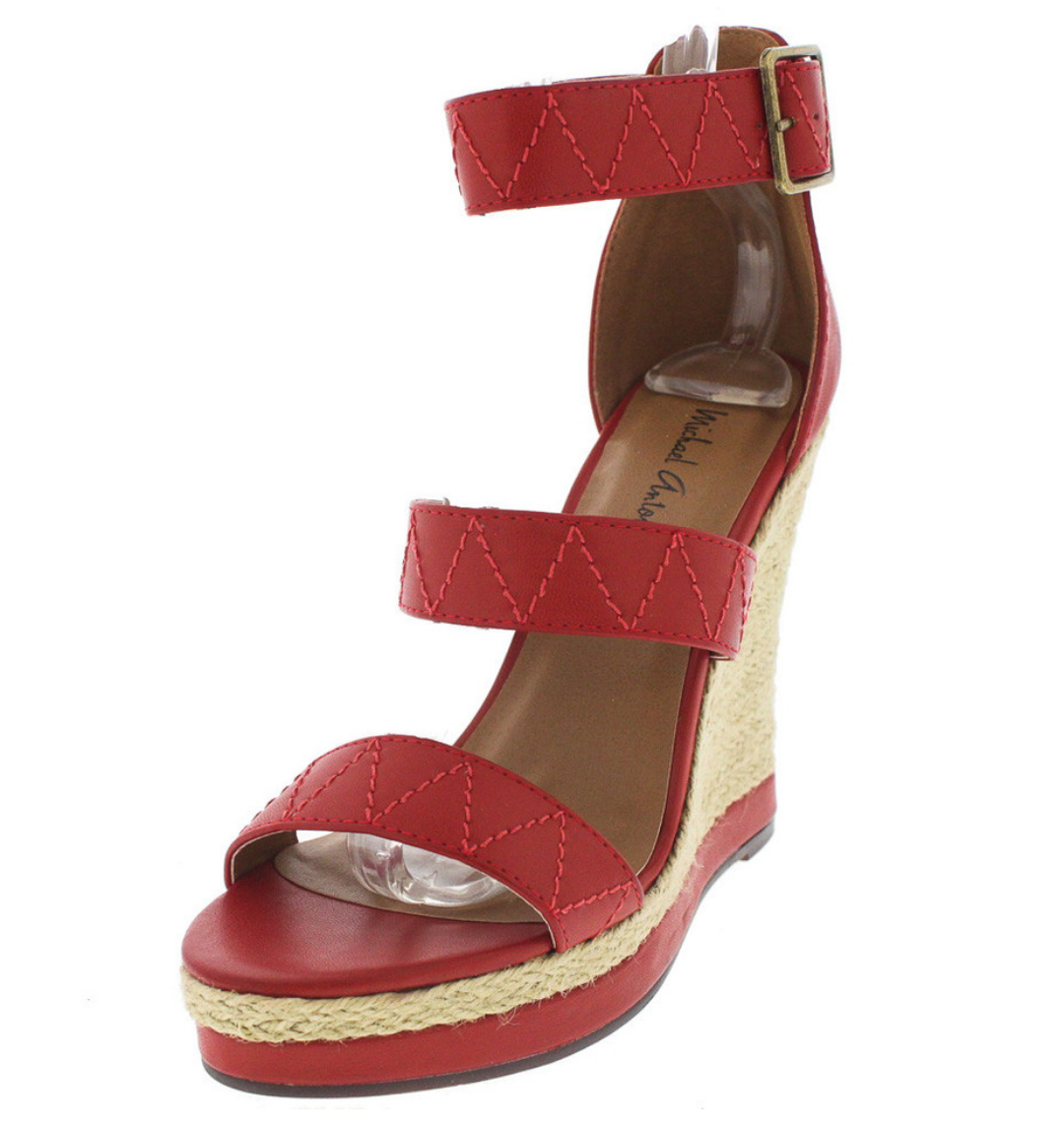 Coral Red Wedge