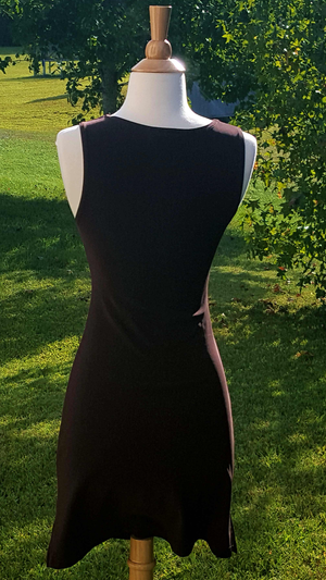 Chocolate Fitted Maurice Dress