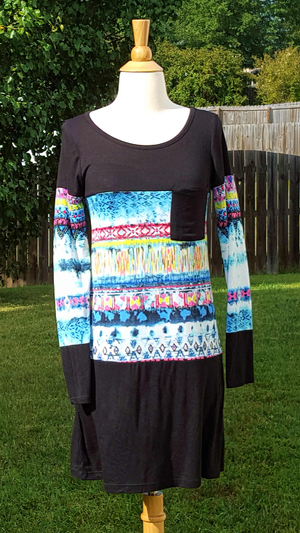 Womens Tye Dye Dress