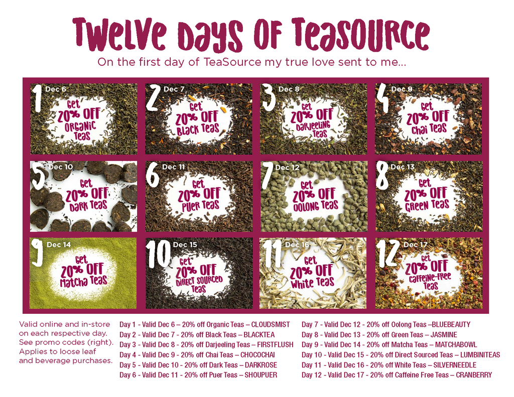 12 Days of TeaSource