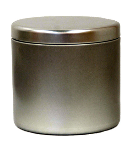 4 oz Stainless Steel Tin
