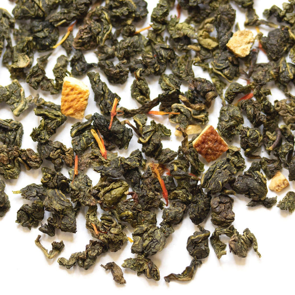 Loose leaf Orange Cream oolong tea