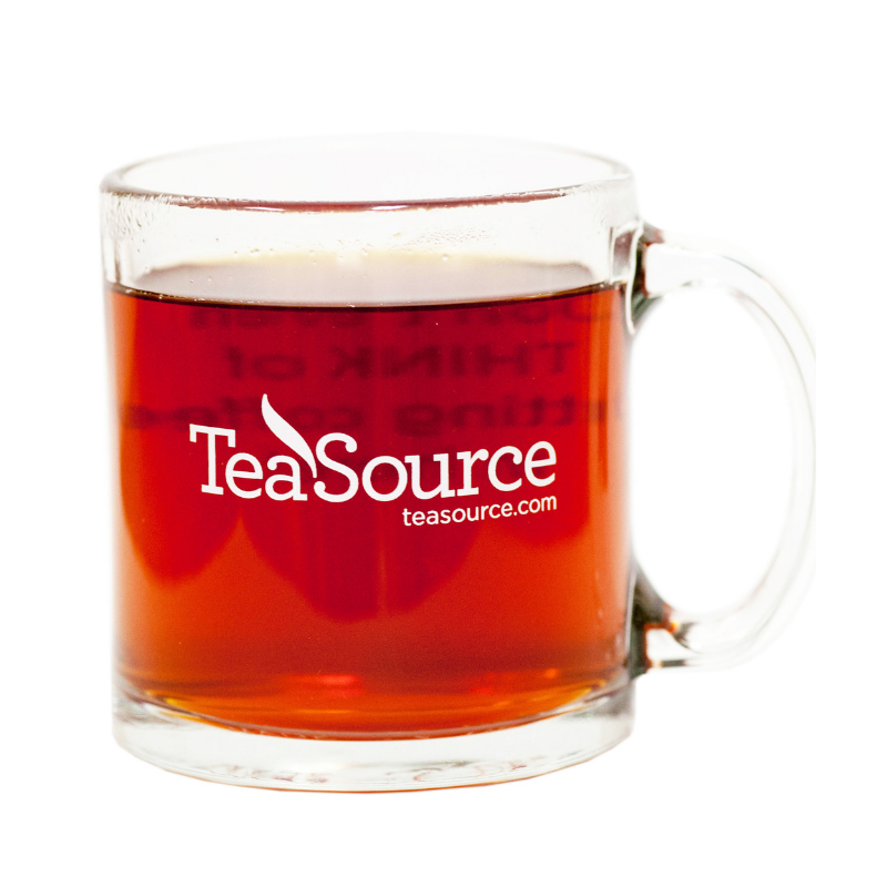 TeaSource Glass Mug