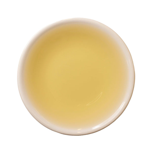 Steeped cup 2017 Shou Mei White Tea Cake