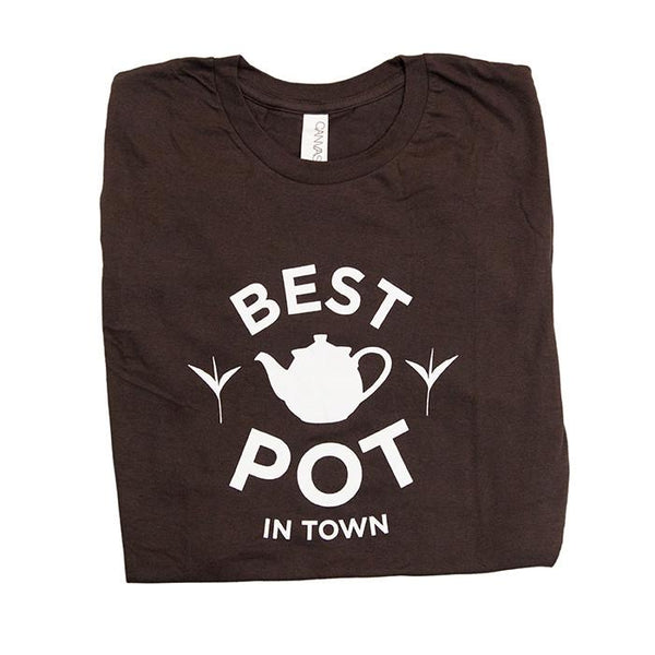 Best Pot in Town Tea Shirt