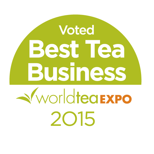 Logo for best tea business 2015