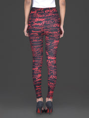 The Typography Legging