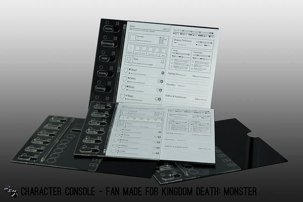 fan-made kingdom death monster character console