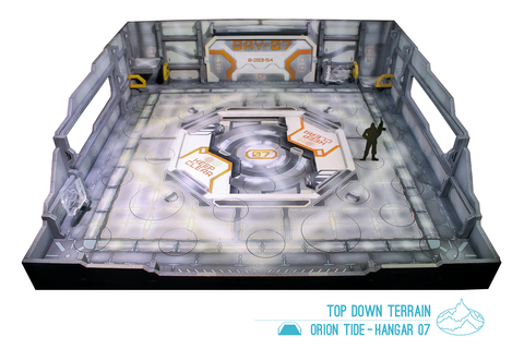 Orion Tide - Hangar 07 Display Stage w/ Tournament Drawer