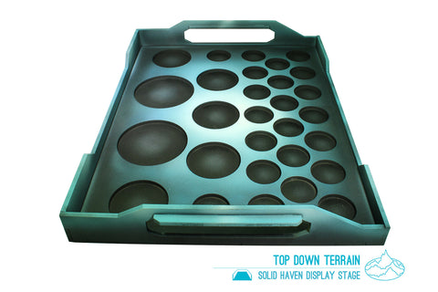 Solid Haven Display Tray Side View