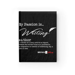 Journal - Ruled Line - My Passion Is Writing Paper products - WritersLife.org