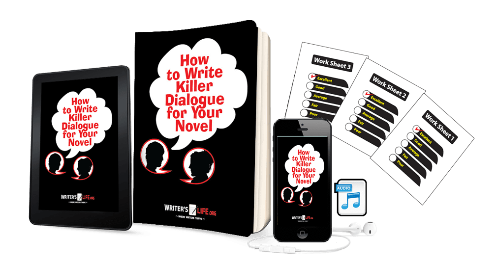 How To Write Killer Dialogue For Your Novel Courses - WritersLife.org