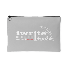 I Write Better Than I Talk, Accessory Pouch Accessory Pouches - WritersLife.org