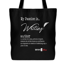 Tote Bag - My Passion Is Writing!