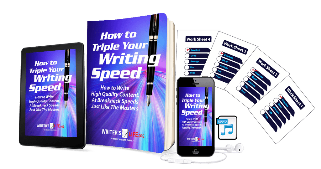 How to Triple Your Writing Speed Courses - WritersLife.org