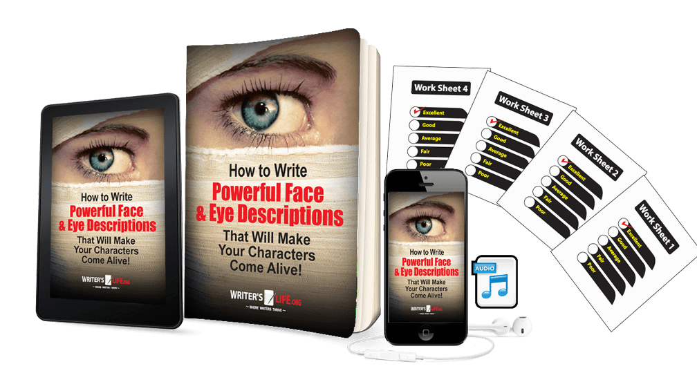 How to Write Lifelike Face & Eye Descriptions That Will Make Your Characters Come Alive! Courses - WritersLife.org