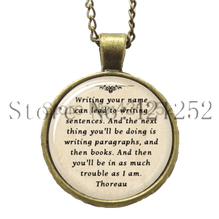 Writing Your Name Can Lead To-Necklace