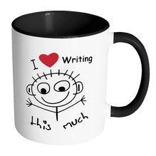 I Love Writing This Much - Accent Mug