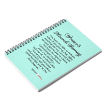 Spiral Notebook - Ruled Line - Writer's Miranda Warning