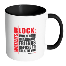 Accent Coffee Mug - Writer's Block