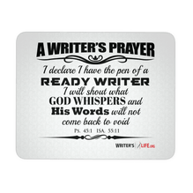 Mouse Pad - Writer's Prayer