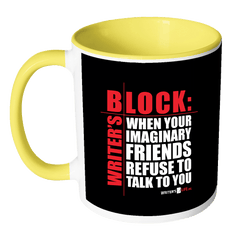 Accent Mug - Writers Block Drinkware - WritersLife.org