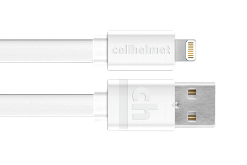 Wholesale 6ft Flat, Tangle Free Apple Lightning Charge Cable by cellhelmet