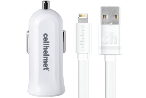 Apple Certified Car Charger - Lightning Car Charger by cellhelmet