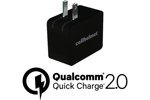cellhelmet Fast Wall Charger w/Qualcomm Quick Charge 2.0