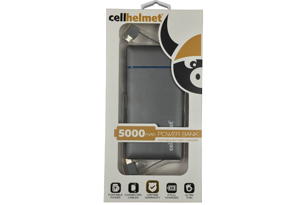 5000mAh Power Bank - Portable Battery Charger by cellhelmet