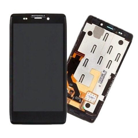 Motorola Droid Razr XT910 XT912 LCD Touch Screen Digitizer Full Assembly BLACK