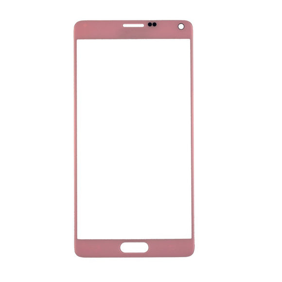 Samsung Galaxy Note 4 N910 N910S N910C N910A N910V N910P N910R N910T Glass lens Pink