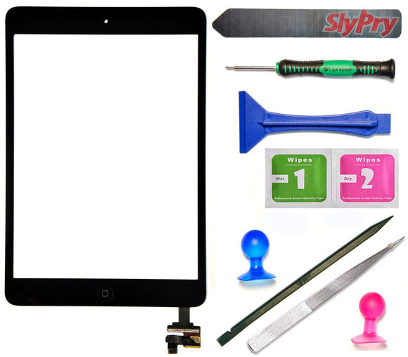 Prokit Adhesive® ipad mini screen replacement kit Black