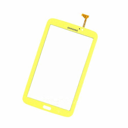 SAMSUNG GALAXY TAB 3 Wifi P3210 7.0 TOUCH SCREEN DIGITIZER YELLOW (NOEARPIECE HOLE)