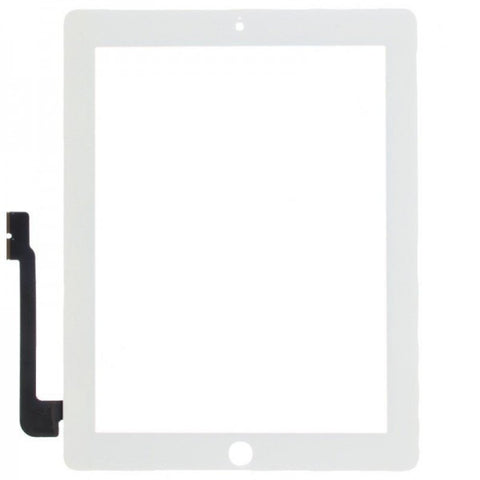 Apple iPad 3 /4 replacement glass digitizer replacment - White