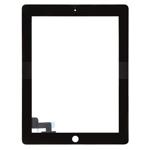 Apple iPad 2 replacement glass digitizer replacement - Black