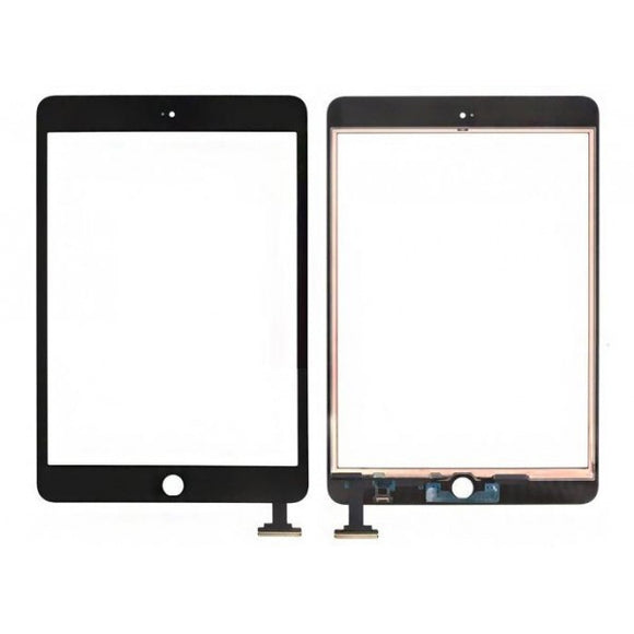 Apple iPad Mini 3 Replacement Glass Digitizer with IC chip (no Home button)- Black