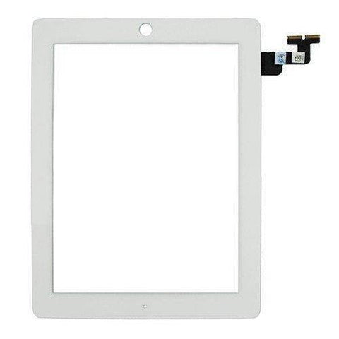 Apple iPad 2 replacement glass digitizer replacment - White