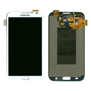 Samsung Galaxy Note II 2 N7100 White full LCD without frame